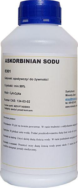 ASKORBINIAN SODU spożywczy CZYSTY WITAMINA C 500g na Arena.pl