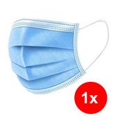Higieniczna 3-warstwowa maska ochronna, maseczka antywirusowa 1 szt. zdjęcie 1