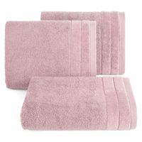 Ręcznik frotte z bordiurą DAMLA 50X90 c. lila