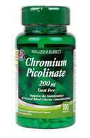 Chromium Picolinate, Chrom 200mcg - 100 tablets Holland & Barrett