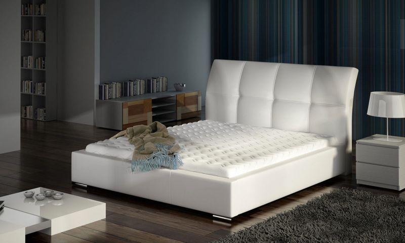 Łóżko Tapicerowane MILO 160x200+ Stelaż zdjęcie 1