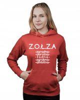 Bluza damska kangur ZOŁZA CECHY XXL