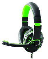 EGH330G Słuchawki z mikrofonem dla graczy Crow zielone