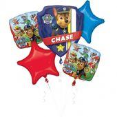 Bukiet balonów foliowych Psi Patrol 5 szt