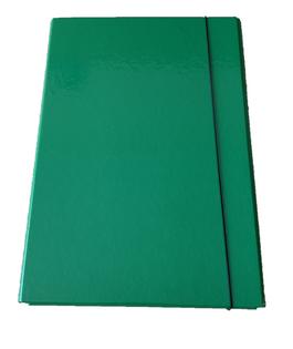 Teczka na gumkę A4 2cm zielona