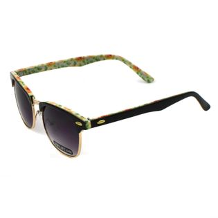 Okulary przeciwsłoneczne damskie nerdy Kwiaty
