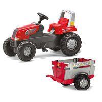 Rolly Toys Traktor na pedały Przyczepa Junior 3-8 lat do 50kg