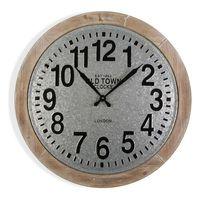 Zegar Ścienny Old Town Drewno MDF (70 x 6 x 70 cm)