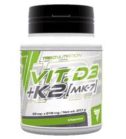 TREC VIT. D3 + K2 MK-7 60kap Witamina K2 z Natto