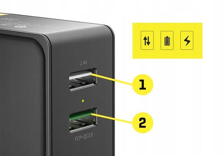 Ładowarka Sieciowa USB ROCK Quick Charge 3.0 30W zdjęcie 8