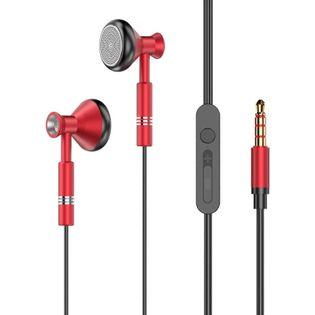 Dudao słuchawki pilot 3,5 mm mini jack X8Pro red