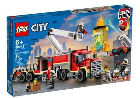 Lego City Strażacka jednostka dowodzenia