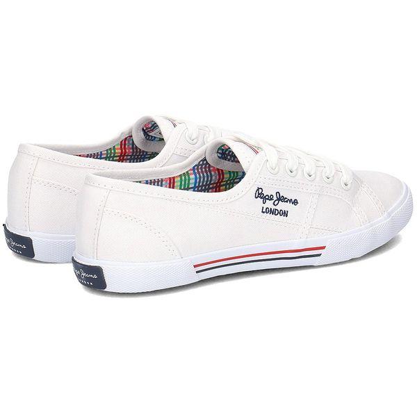 2435e0815 Pepe Jeans Aberlady Basic - Trampki Damskie - PLS30500 800 41 • Arena.pl