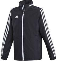Kurtka dla dzieci adidas Tiro 19 All Weather Jacket Junior czarna D95941 140cm