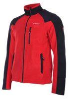 Polar męski bluza Hi-Tec Monar czerwono-czarny rozmiar XL