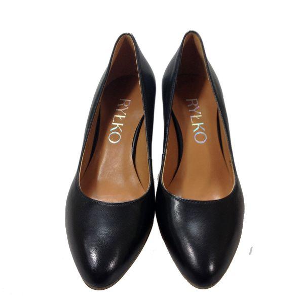 18506351e1b4f Czółenka RYŁKO 6M200K czarny Rozmiar obuwia - 38, Kolor - Czarny zdjęcie 4