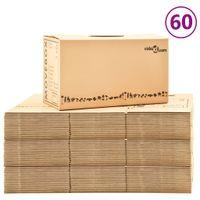 Kartony Do Przeprowadzki, Xxl, 60 Szt., 60X33X34 Cm