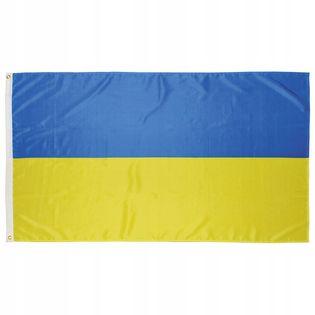 Flaga na maszt 90 x 150 cm Ukraina