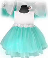 Sukienka tiulowa brylantowa kolory chrzest komunia  Producent 98/104