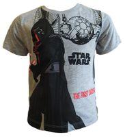 T-Shirt Star Wars Black 10Y r140 Licencja LucasFilm (ER1204 Grey 10Y)