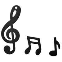 konfetti NUTY nutki MUZYK muzyczne CZARNE paka XL