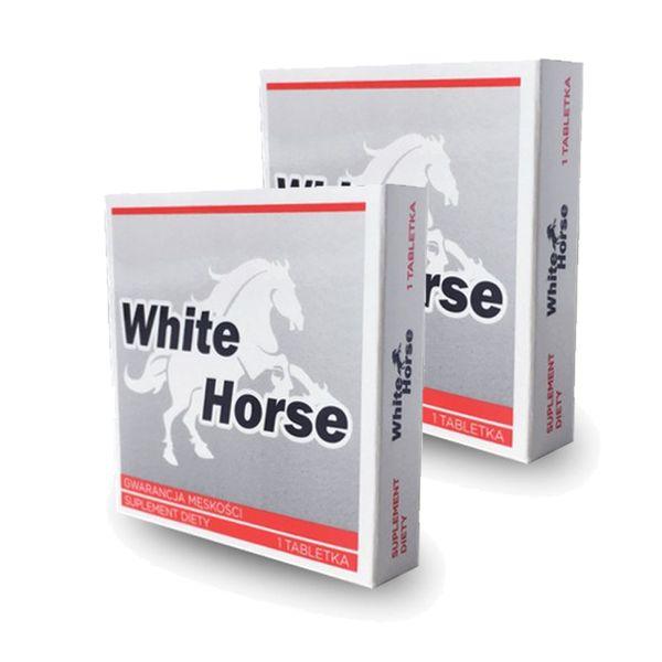 2x WHITE HORSE TABLETKI POTENCJA MOCNA EREKCJA DO 24H na Arena.pl