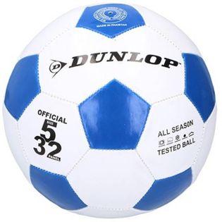 Dunlop - Piłka do nogi 23 cm (Niebieska)