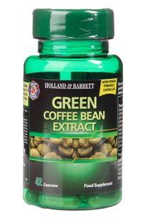 Ekstrakt z Zielonej Kawy Produkt Wegański 42kaps Holland & Barrett