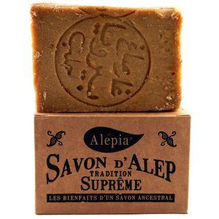 Mydło Aleppo Tradition Supreme 1% Szare Opakowanie - 190g - Alepia