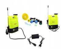Opryskiwacz akumulatorowy 16l plecakowy do ogródka