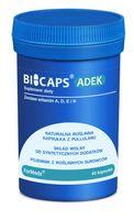 ForMeds BICAPS A D E K Kompleks witamin A, D3, E, K2 MK-7 - ADEK- suplement diety - 60 kapsułek