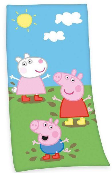 PEPPA PIG RĘCZNIK KĄPIELOWY NA BASEN 150X75 cm na Arena.pl
