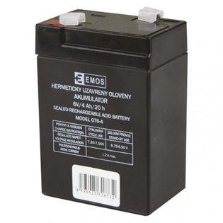 Akumulator AGM 6V 4Ah F4,7 do P2301, P2304, P2305, P2308