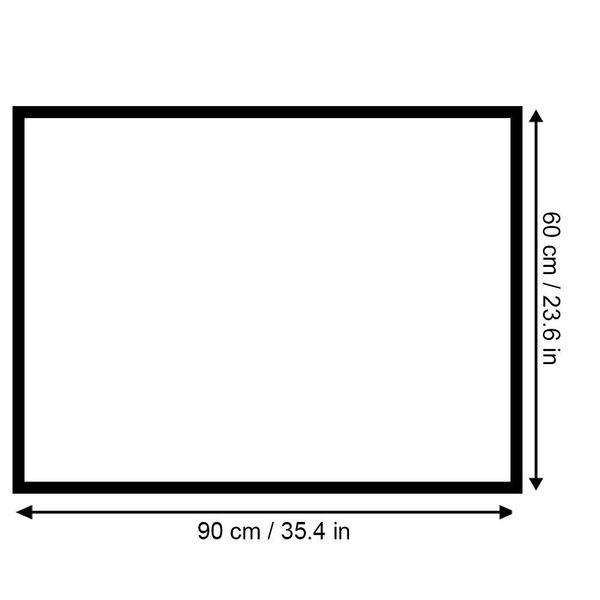 Obraz na płótnie - Canvas, okno - palmy 120x80 zdjęcie 5
