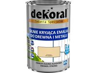 Emalia Dekoral Emakol Strong (Kremowy, 0.9 L)