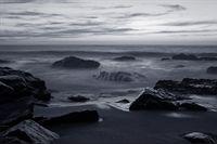 Fototapeta Plaża Skały Widok na Morze do Salonu 368cm x 254cm