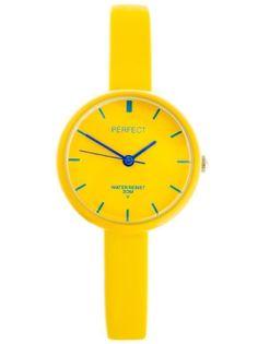 ZEGAREK DZIECIĘCY PERFECT - yellow (zp731b)
