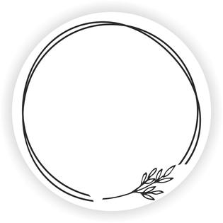 Arkusz PUSTE etykiety PRZYPRAWY zioła białe okrągłe naklejki 35 szt