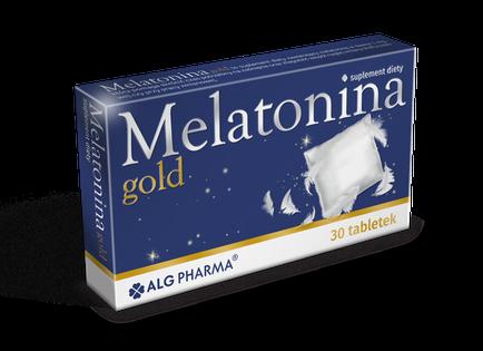 MELATONINA GOLD spokojny zdrowy sen 30 tabl.