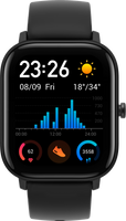 Smartwatch AMAZFIT GTS Obsidian Black (Czarny)