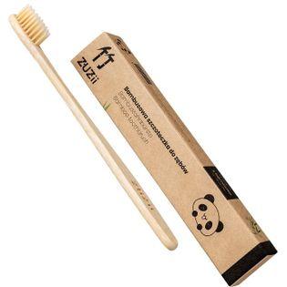 Zuzii szczoteczka bambusowa dla dzieci beżowa