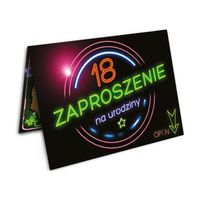 Zaproszenie na 18 urodziny - ZX8901