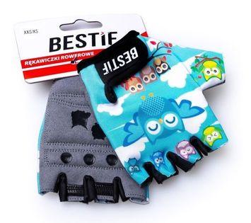 Dziecięce rękawiczki rowerowe BRR03 Bestif xxs/xs