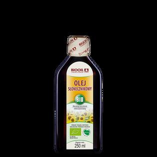 Olej słonecznikowy BIO 250 ml tłoczony na zimno
