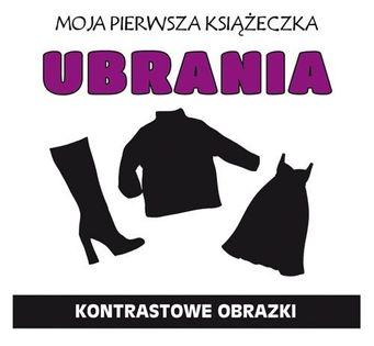 Moja pierwsza książeczka Ubrania