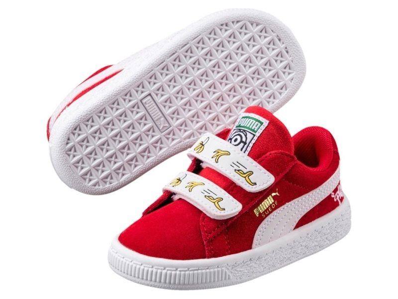 Buty dziecięce PUMA MINIONS SUEDE V PS 35