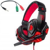 COMBO Słuchawki z Mikrofonem do Komputera PS4 Xbox