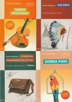 GREG Zestaw 4 książek Janko Muzykant, Sachem, Z pamiętnika poznańskiego nauczyciela, Dobra Pani Henryk Sienkiewicz, Eliza Orzeszkowa