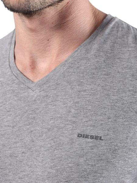 DIESEL UMTEE SHIRT JAKE V-NECK 3-PACK White/Grey/Black 00SPDM-0AALW-01 - XL zdjęcie 3