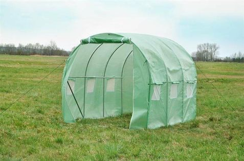 Ogrodniczy tunel foliowy szklarnia 13,5m4,5x3x2m 10021